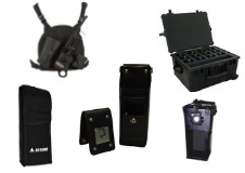 Belt Clips/Cases/Chest Packs/Holsters