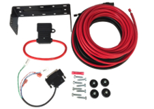 Install Kits, Remote Mount  & Power Cables