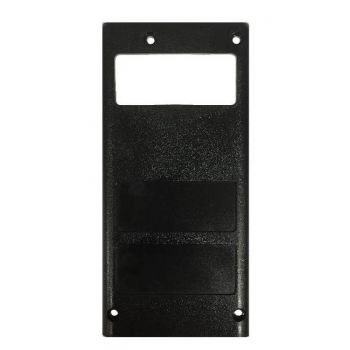 1411-50702-007 Back Case, Black Lexan for RELM BK Radio DPH, GPH