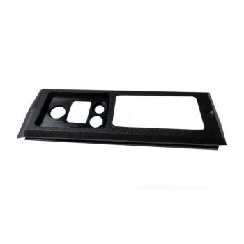 1411-50702-104 PTT Housing, Black Lexan for RELM BK Radio DPH, GPH, EPH