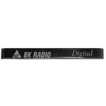 1411-60278-406 Digital Nameplate Inlay, Front Case Inlay for RELM BK Radio DPH-CMD and DPH