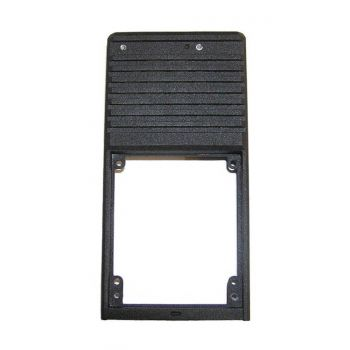 1411-60701-203 Front Case, Black Metal for RELM BK Radio DPH, GPH, DPHCMD, GPHCMD,  Use 1411-60701-204 Replacement