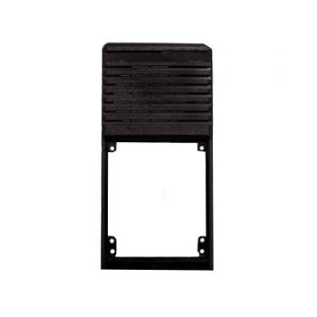 m1411-60704-506 Front Case, Black Lexan for RELM BK Radio DPH, GPH, EPH
