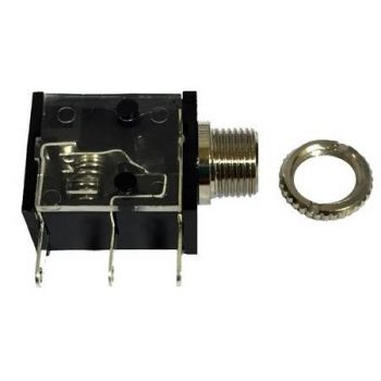 2101-20033-100 RF Jack, 3.5mm Antenna Port for RELM BK Radio DPH, GPH, EPH