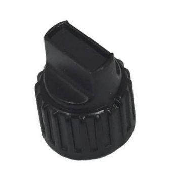 2402-50541-603 Channel Knob without Inlay, for RELM BK Radio DPH-CMD and GPH-CMD