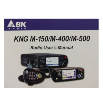 Owners Manual, 7001-31028-900 - for RELM BK Radio KNG-M Series