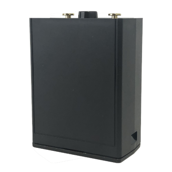 "LAA0191 BadAss Black ""AA"" Battery Clamshell for RELM BK Radio DPH, GPH"