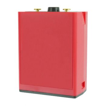 "LAA0139 BadAss Red ""AA"" Clamshell for RELM BK Radio DPH, GPH"