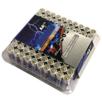 "BADS9RAA 100 Pack ""AA"" - Non-Rechargeable Alkaline Batteries"