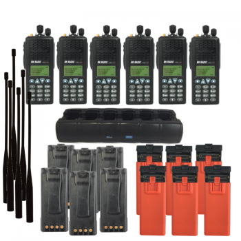 CALFIRE BK KNG-P150CMD Radio Package