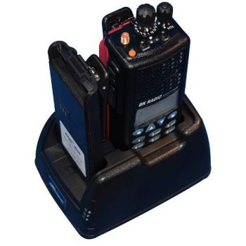 CHKNGVC9R2B Dual Vehicle Charger - Rapid Rate, Tri Chemistry, Includes Hardwire Kit and Mounting Bracket for KNG P Series Radios