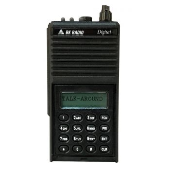DPH5102X-CMD Bendix King Digital Portable Radio - Command Version. P25 APCO, 500 Channels, 5 Watt, VHF 136-174 MHZ, Metal Case