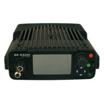 KNG-M400 BK Digital Mobile Radio - Dash Mount, UHF 380-470 MHz, 2,048 Channels, P25, Installation Kit and External Speaker Included (Microphone Sold Separately)