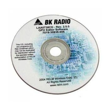 LAA0738P Programming Software CD for Bendix King GPH5102XP