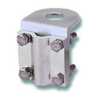 "LBM9034 Mirror Mount Antenna Bracket, Antenex - 3/4"" Hole, Aluminum, 90 Degrees"