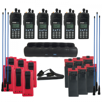 Firefighter Radio KNG-P150 Package