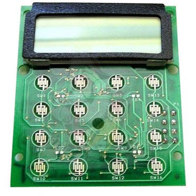 2003-30964-300 Alpha Numeric LCD Display, Includes Board for RELM BK Radio DPH-CMD, GPH-CMD