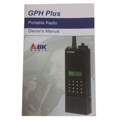 7001-30998-000 BK Radio Owners Manual - for GPHXP