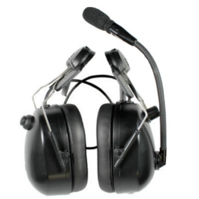 Helmet Mount Dual Muff Headset, AAKW1DMMMRL