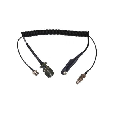AVKNGAU9R 10-Pin Auxiliary Adapter for KNG RELM BK Radio