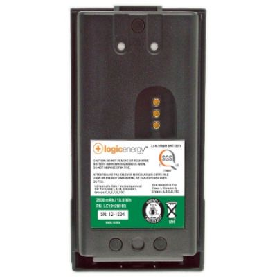 Rechargeable Intrinsically Safe Battery, 2500 MAh for Harris XG-100P