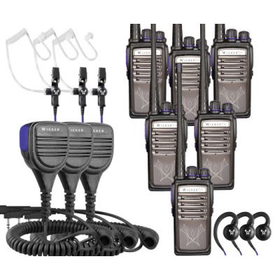 Nighthawk Security Bundle Alpha1 Radio 6-Pack