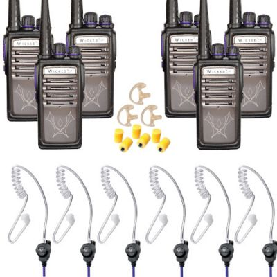Big Bouncer Bundle Undercover 6-Pack Alpha1 Radios
