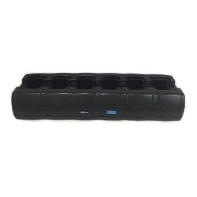 6-Bay, Rapid Rate, Charger for Motorola Mag One BPR40 and BearCom BC130 Portables