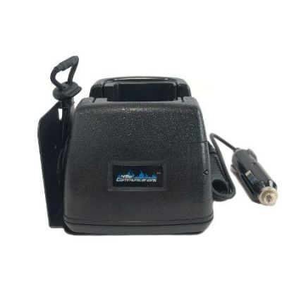 Single Radio Vehicle Mounted Battery Charger for Motorola XTS, Cosmo, EF Johnson Portables