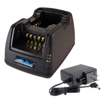 Dual Vehicle Charger, CHMO8VC9R2BE for Motorola APX radios
