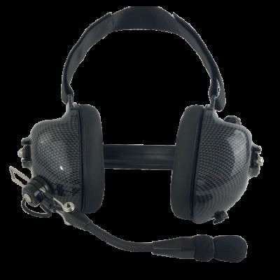 AADPHDMMMR BTH Dual Muff Headset - Noise Canceling, Ear Muff PTT for DPH, GPH, EPH