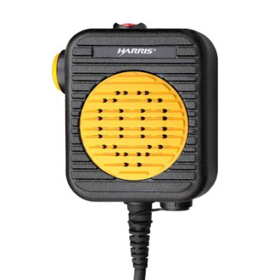 Harris Hi-visibility Speaker Mic, EV-AE4C for XG-75P and XG-25P Radios