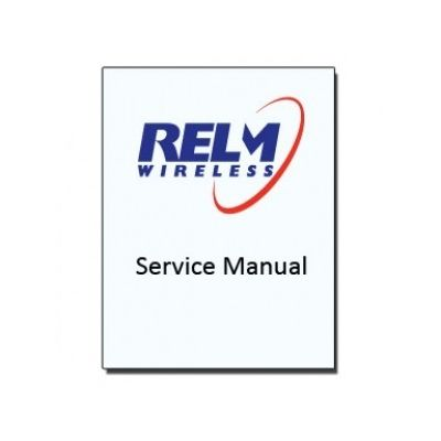 Service Manual, KAA0002 - for Relm BK Radio KNG-M
