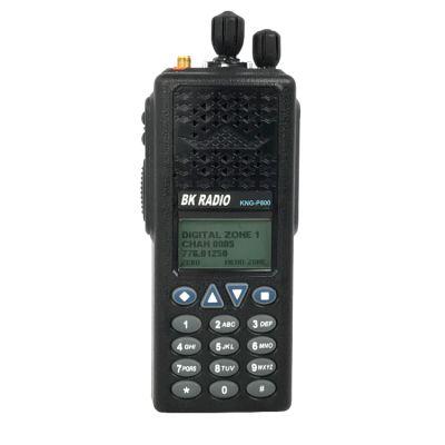 KNG-P800 BK Digital Portable Radio P25 APCO - 2048 Channels, 3 Watt,  763-870 MHz