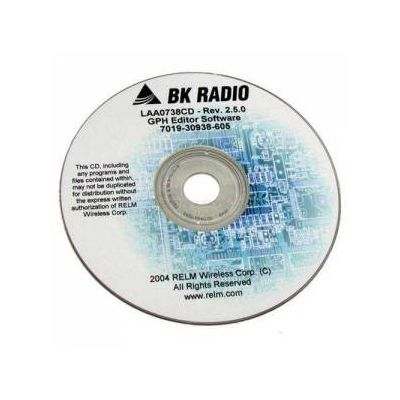 LAA0747CD Programming Software CD for Bendix King DPH5102X-CMD