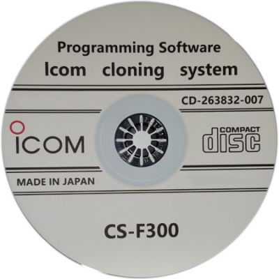 PC Programming Software, CS-F300 - For use with iCOM IC-F320, F420