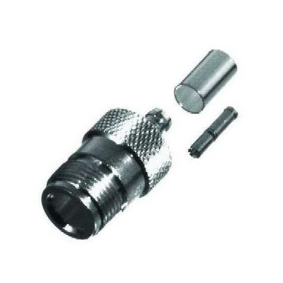 RFN1027 N-Female, Crimp On Connector for RG58 or LMR195 - RF Industries