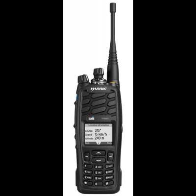 TP9600, 136-174 MHZ, Full Keypad, Black, P25