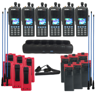 Wildland Firefighter Radio KNG2-P150 6-pack