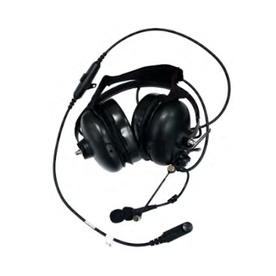 Heavy Duty BTH Headset, In-Line PTT, XL-AE1P for Harris XL-200P