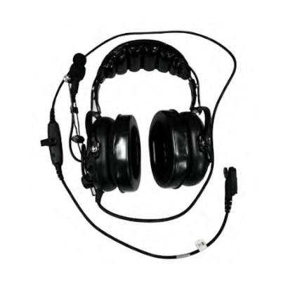 Heavy Duty OTH Headset, In Line PTT, XL-AE1R for Harris XL-200P