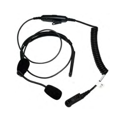BTH Headset, Boom Mic, In-Line PTT, XL-AE2G for Harris XL-200P