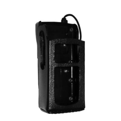 Premium Leather Holster with Swivel, XL-HC4K for Harris Radio XL-200P