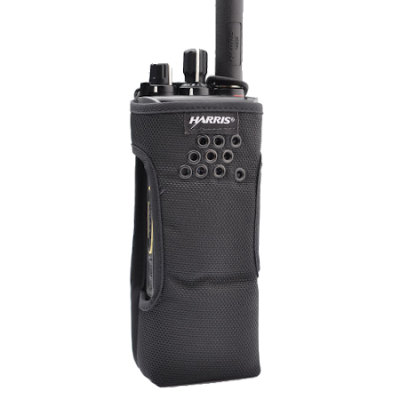 Nylon Holster with Belt Loop, XPHC3G for Harris Unity XG-100P Radios