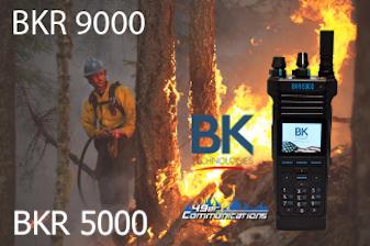 BKR9000 and BKR 5000 Radio